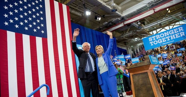 'Far and away the best': Sanders finally endorses Clinton