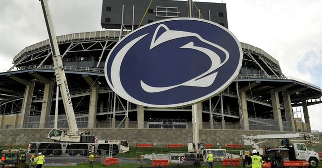 The Latest: Abuse victim says Paterno rebuffed complaint