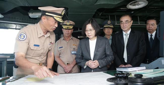 The Latest: Taiwan leader slams UN ruling, sends patrol ship
