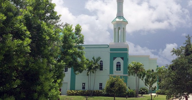 People vote in churches and synagogues. Why not a mosque?