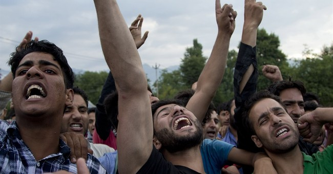 Death of rebel leader fuels renewed anger in Kashmir