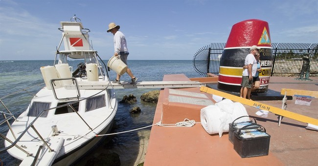 Police: Cubans land at southernmost landmark in Key West