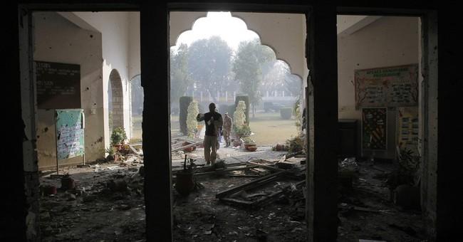 Pentagon: school attack mastermind killed in US airstrike