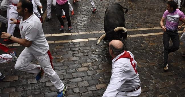 Spain: American gored in next-to-last San Fermin bull run