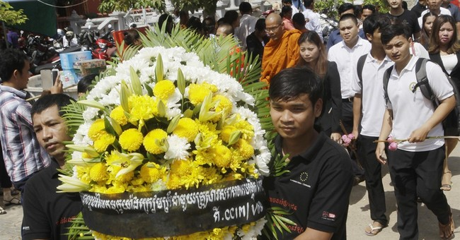 Ex-soldier charged in killing of Cambodian government critic
