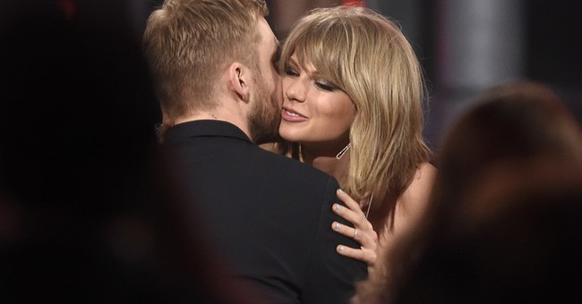 Swift says she co-wrote ex's latest hit; Harris lashes out