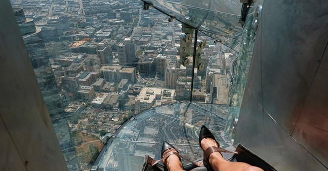 Lawsuit claims broken ankle on LA skyscraper slide