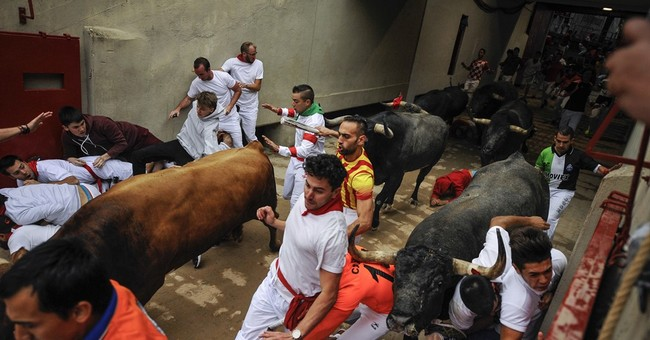 Spain: 9 injured, no one gored in final Pamplona bull run