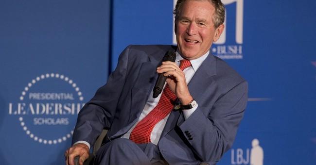 Blair, Bush, Clinton advocate cooperation at forum