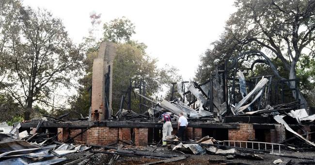 Arson destroys Civil War governor's mansion in Louisiana