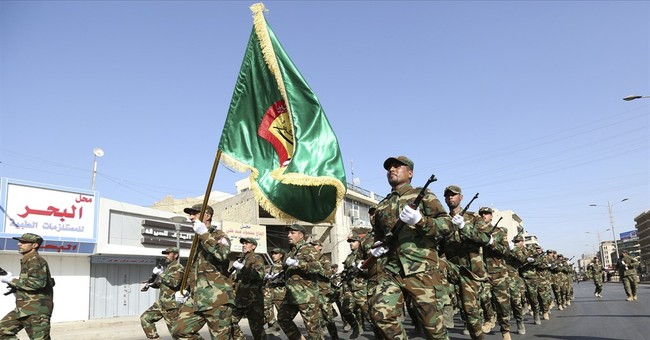 Iraq marks national holiday with military parade