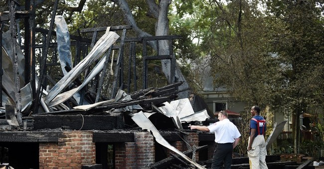 Arson destroys Civil War governor's mansion in Louisiana