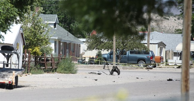 Sheriff: Bomber dead, house and vehicle destroyed; family OK
