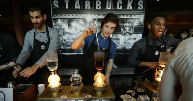 "Starbucks customers change names to ""Black Lives Matter"""