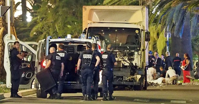 An out-of-place truck, then screams as Nice attack unfolded