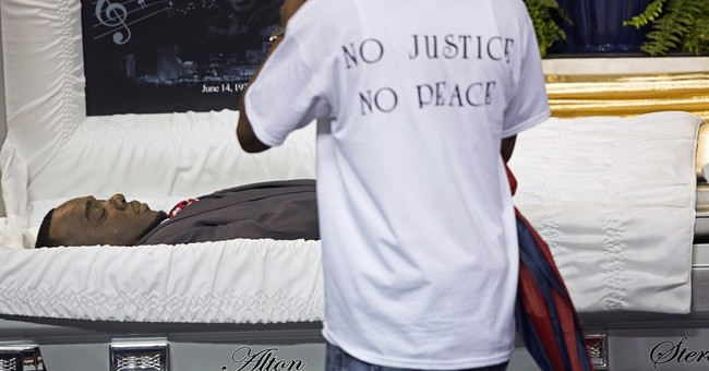 Peaceful remembrance for man killed by police in Baton Rouge