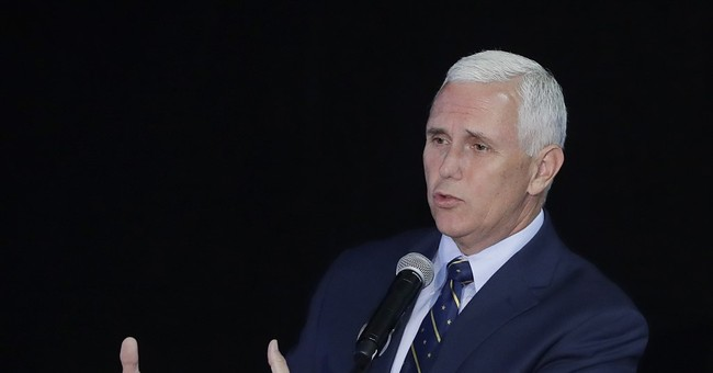 Running mate Mike Pence: Conservative but not angry about it