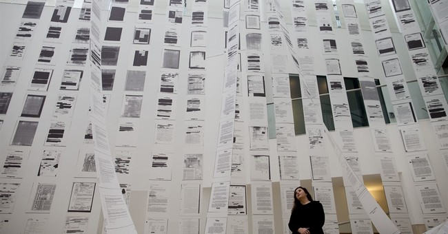 CIA declassified papers focus of art exhibit in Argentina