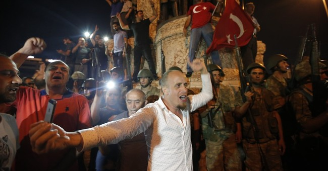 Turkish president says he's in control, coup faltering