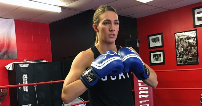 US boxer Mikaela Mayer found life direction in the ring