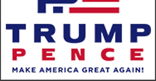 New Trump-Pence logo gives some people the giggles