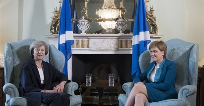 British PM May: Willing to listen to Scotland's EU proposals