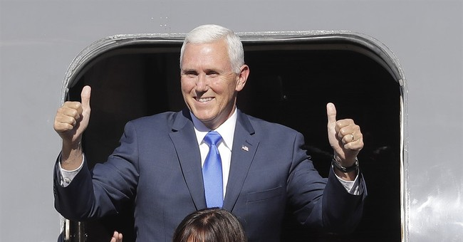 Trump presents 'partner' Pence, but no doubt who's the star
