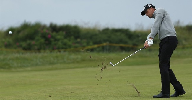 The Latest: Stenson leads Lefty heading to final Open round