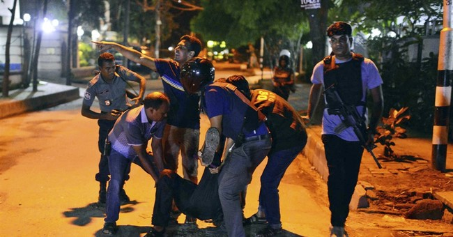 Bangladesh police deny any rescued hostages in their custody
