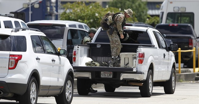 Former Marine kills 3 Baton Rouge officers, wounds 3 others