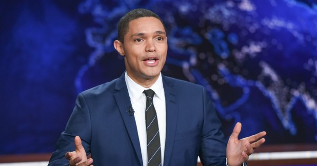 Trevor Noah emerging from Stewart's shadow