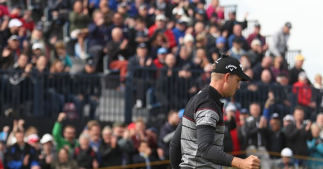 The Latest: Henrik Stenson wins British Open for 1st major