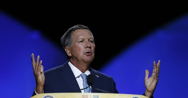 Ohio's Kasich urges working together at NAACP convention
