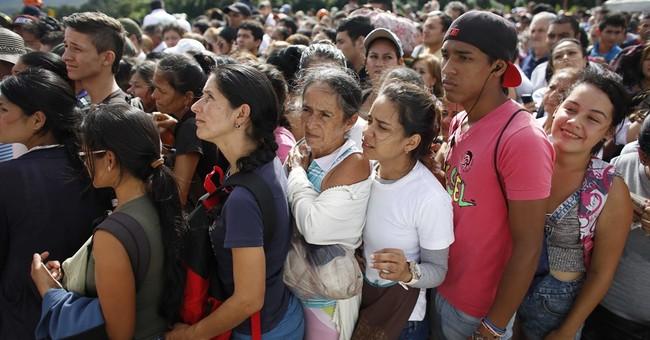 123,000 Venezuelans cross border shopping for scarce food