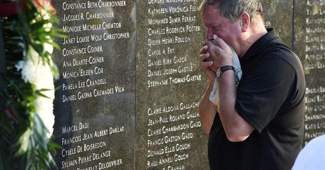 Memorial marks 20th anniversary of TWA Flight 800 crash