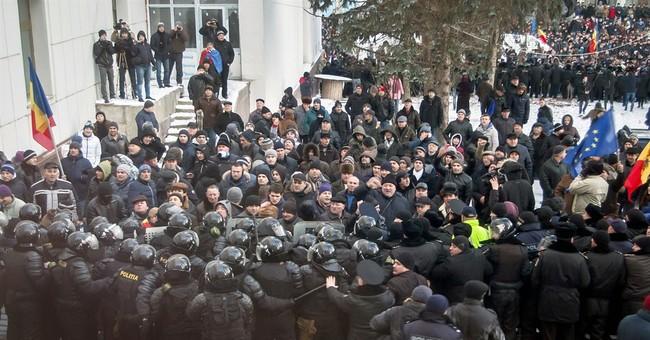 Protesters break into Moldova's Parliament