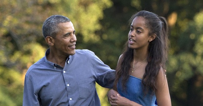 Obama: He'll be too emotional to speak at Malia's graduation