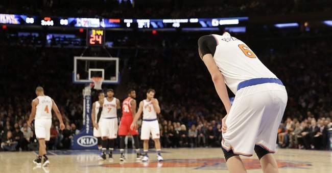 Forbes: Knicks worth $3 billion, NBA revenues at record high