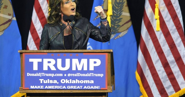 Palin's re-emergence underscores GOP split