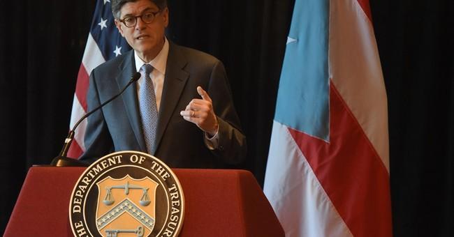 US Treasury Sec: Puerto Rico needs congressional action