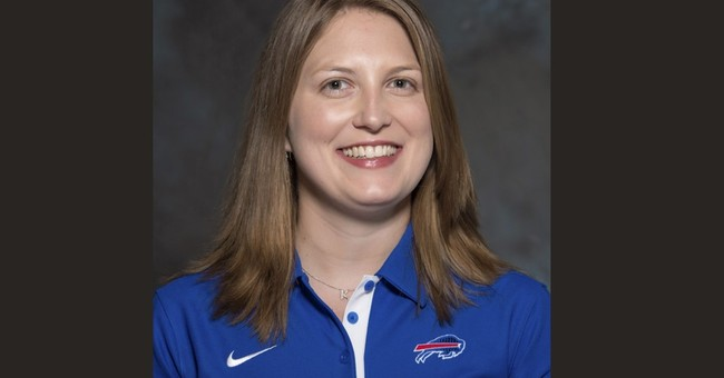 Bills gender-breaking assistant was 3-sport high school star