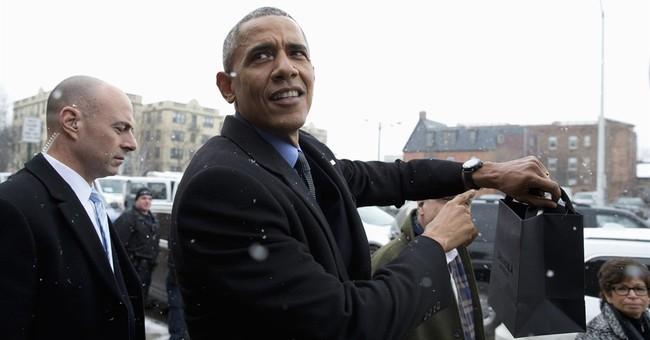 Obama: He'll be too emotional to speak at Malia's graduation