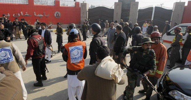 The Latest: Taliban spokesman disowns university attack
