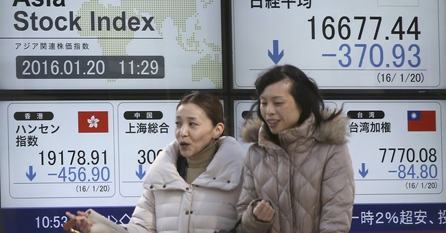 Global stocks routed again as oil slide seems bottomless