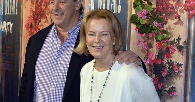 Ex-ABBA members make rare joint appearance at grand opening