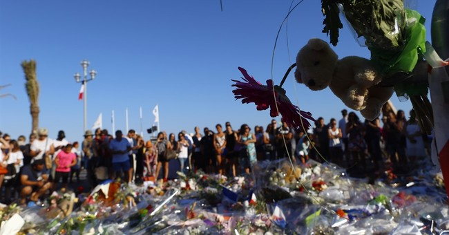 The Latest: Nice victim memorials removed ahead of reopening