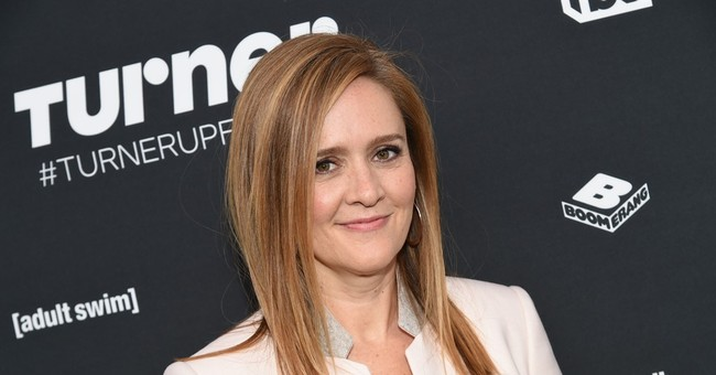 'Full Frontal' host Samantha Bee en route to GOP convention