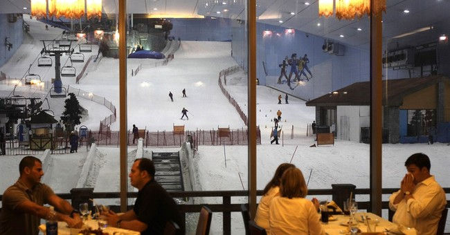 Dubai too hot for you? Stay overnight on its snowy slopes