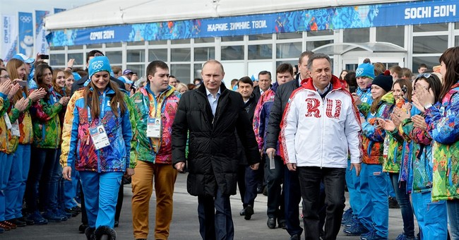 The Latest: Putin suspends officials named in doping report