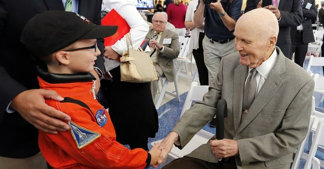 Twitter lights up with 95th birthday wishes for John Glenn